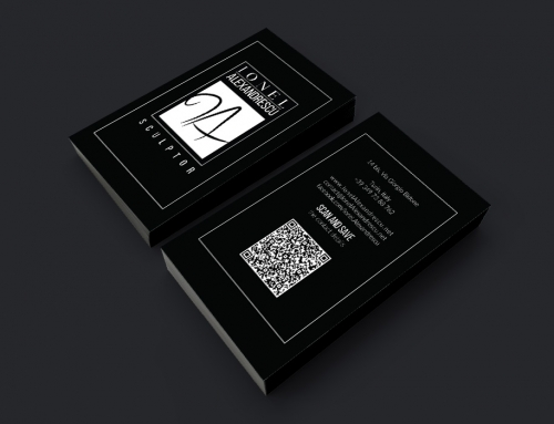 Ionel Alexandrescu – Business Card Design