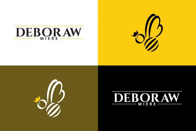 Deboraw-Miere-logo-type-symbol